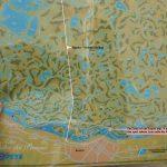 Map of the Parana Delta Near Rosario